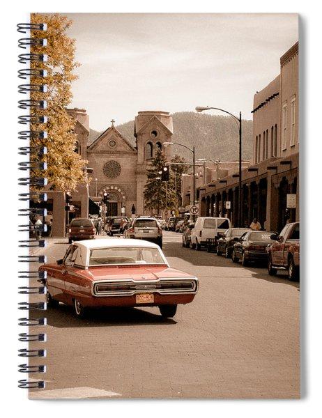 Santa Fe, New Mexico - Cruising Santa Fe Spiral Notebook