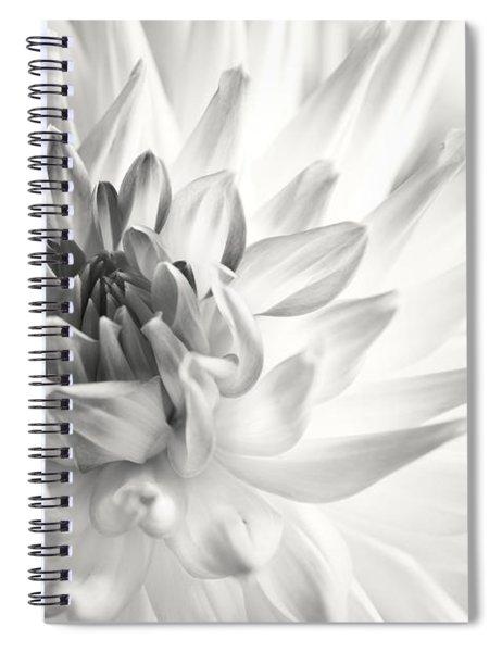 Dahlia Flower 02 Spiral Notebook