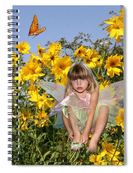 Daisy Faery Spiral Notebook