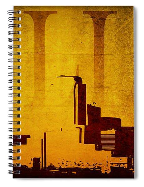 Dallas Spiral Notebook