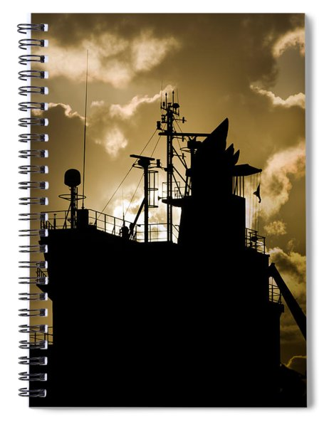 Dark Superstructure Spiral Notebook