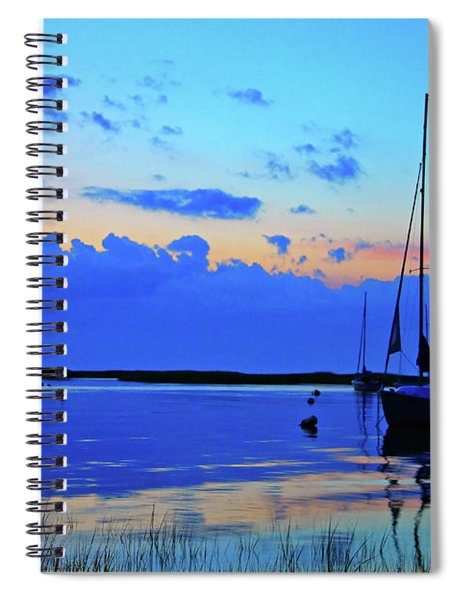 Day's End Rock Harbor Spiral Notebook
