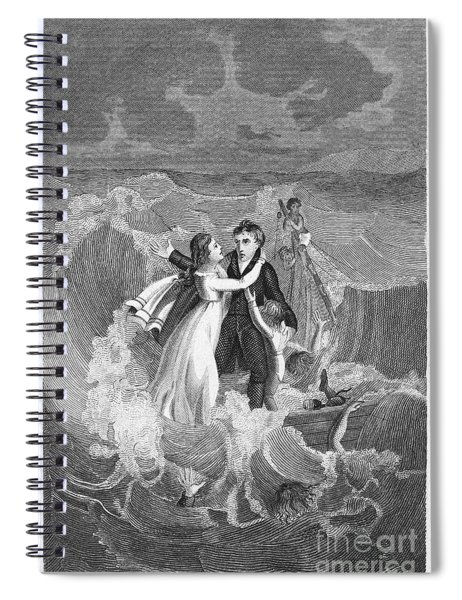 Death Of Missionary, 1822 Spiral Notebook