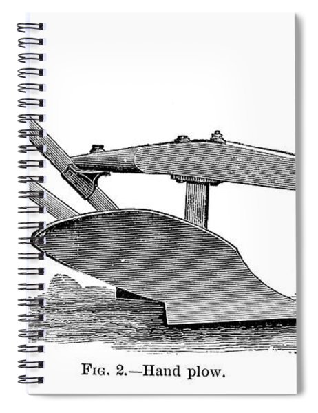 Deere Plow, 19th Century Spiral Notebook