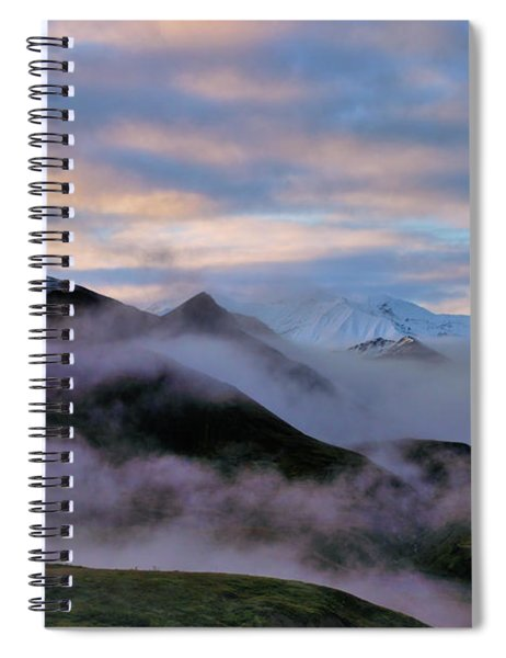 Denali Dawn Spiral Notebook