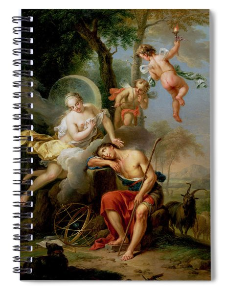 Diana And Endymion Spiral Notebook