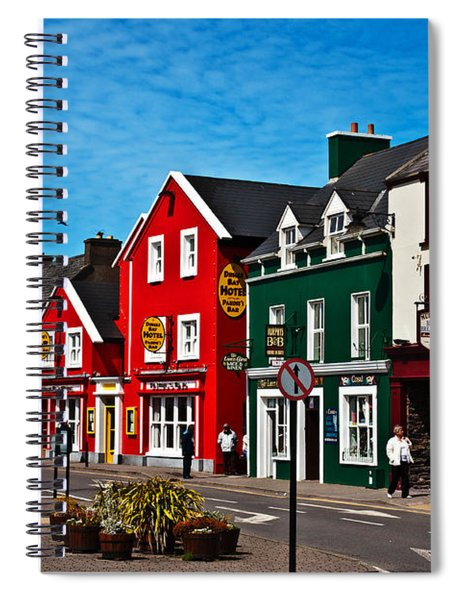 Spiral Notebook featuring the photograph Dingle Bay Color by Edward Peterson
