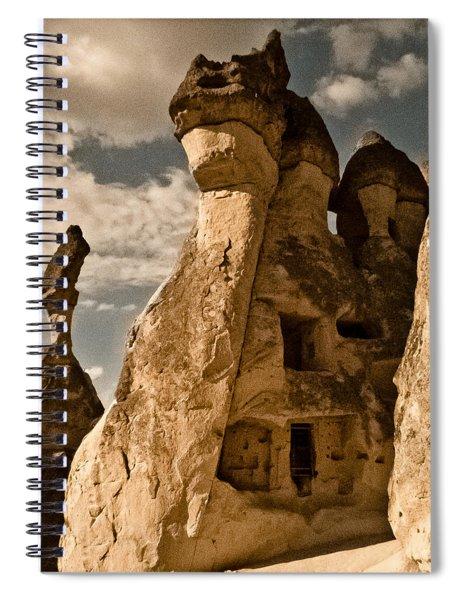Pasabag Valley, Turkey - Dragon Rock Spiral Notebook