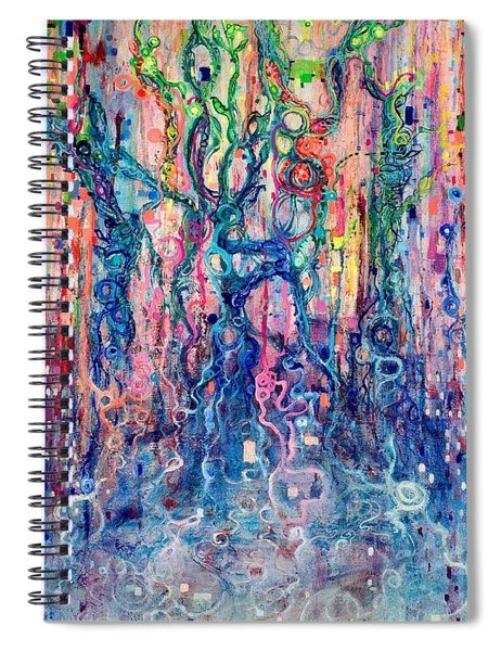 Dream Of Our Souls Awake Spiral Notebook