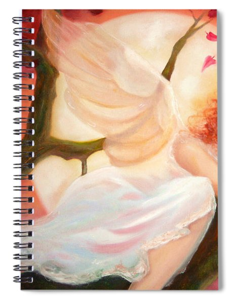 Dreams Of Strawberry Moon Spiral Notebook
