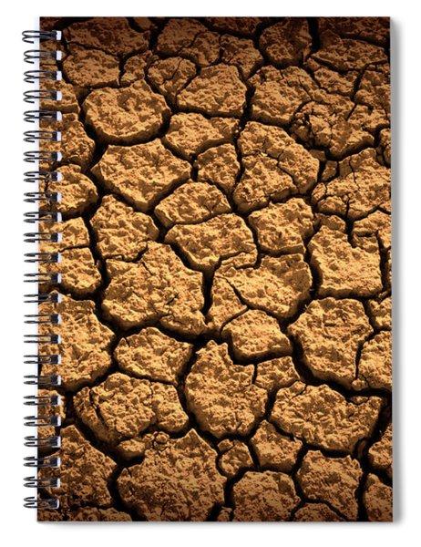 Dried Terrain Spiral Notebook