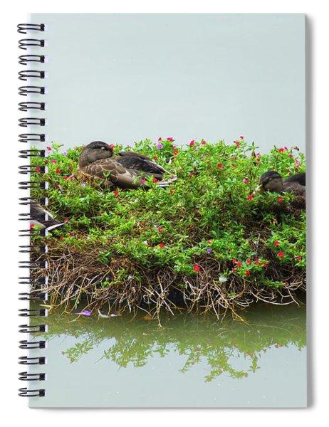 Duck Heaven Spiral Notebook