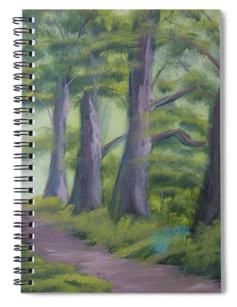Duff House Path Spiral Notebook