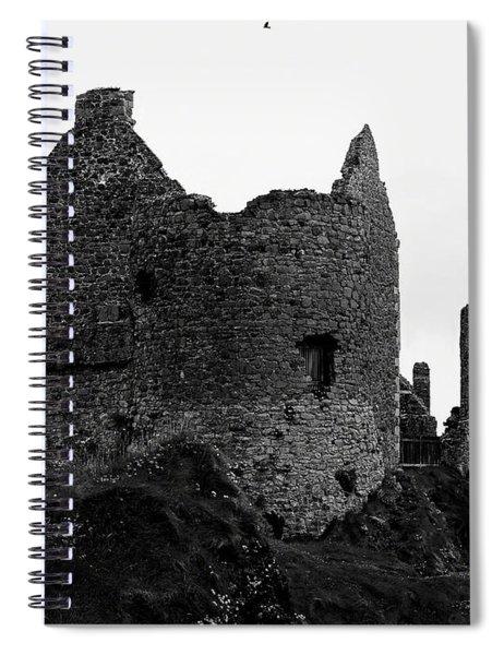 Dunluce Castle Spiral Notebook