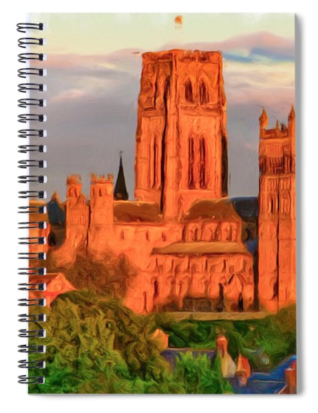 Durham Cathedral Spiral Notebook