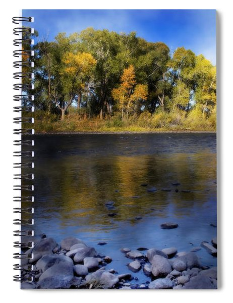 Early Fall At The Headwaters Of The Rio Grande Spiral Notebook