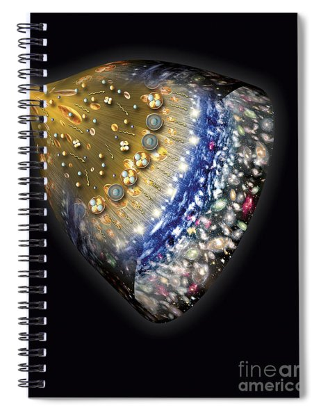 Early History Of The Universe Spiral Notebook