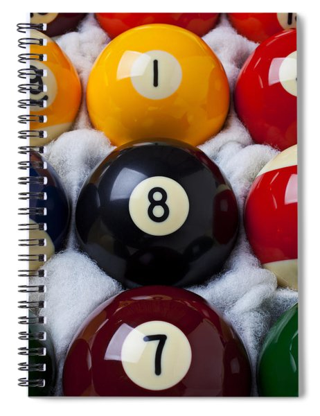 Eight Ball Spiral Notebook