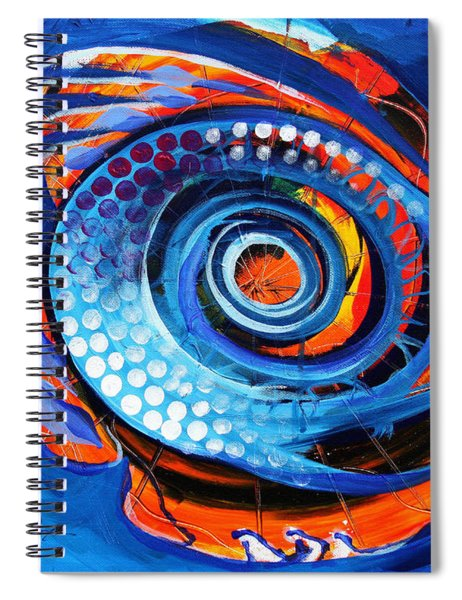 El Chupacabra Spiral Notebook