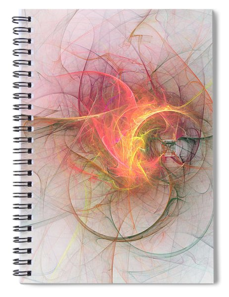Electric Blossom Spiral Notebook