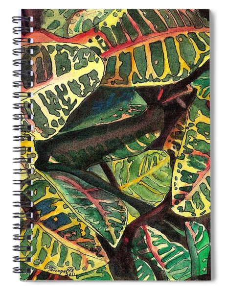Elena's Crotons Spiral Notebook