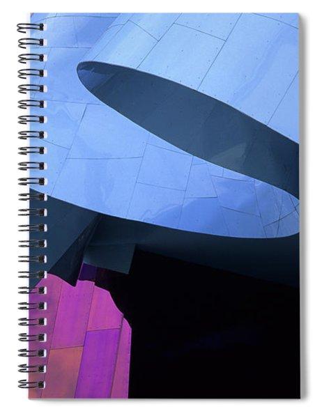 Emp Building Detail Spiral Notebook