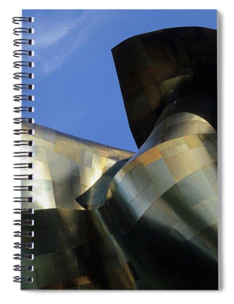 Emp Building Seattle Spiral Notebook