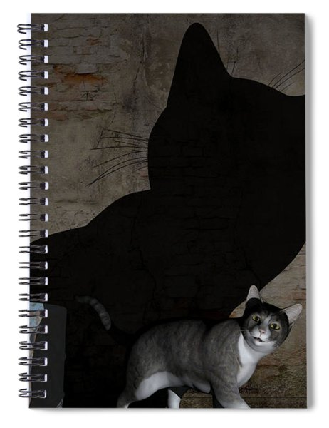Emperor Of Midnight Spiral Notebook