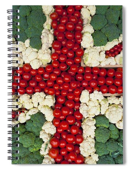 England Spiral Notebook
