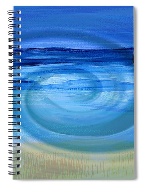Eucalyptus Ocean View Spiral Notebook