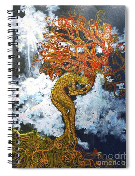 Eve Spiral Notebook