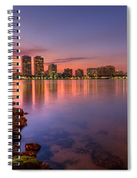 Evening Warmth Spiral Notebook