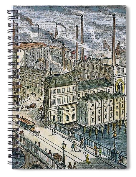 Factories: England, 1879 Spiral Notebook