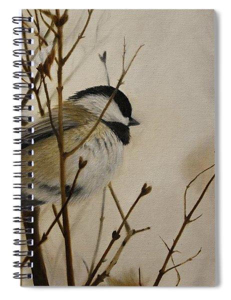 Faithful Winter Friend Spiral Notebook