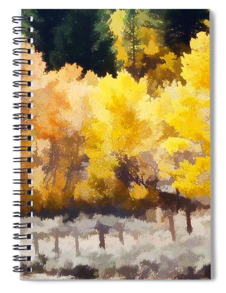 Fall In The Sierra Spiral Notebook