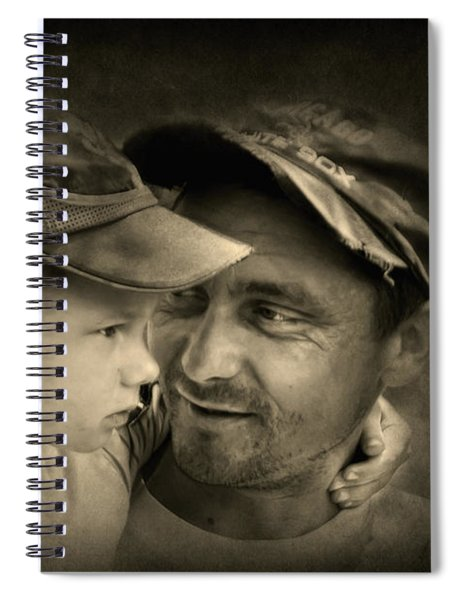 Father Figure Spiral Notebook