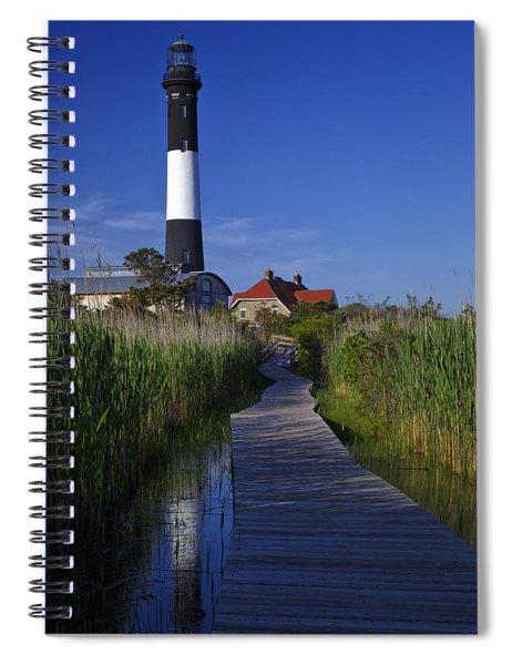 Fire Island Reflection Spiral Notebook