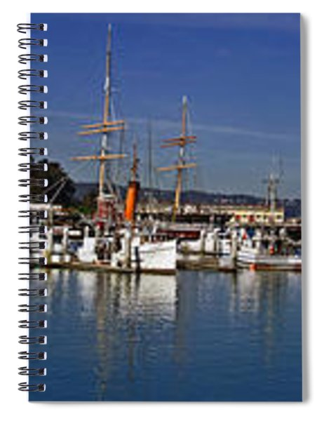 Fisherman's Wharf Spiral Notebook