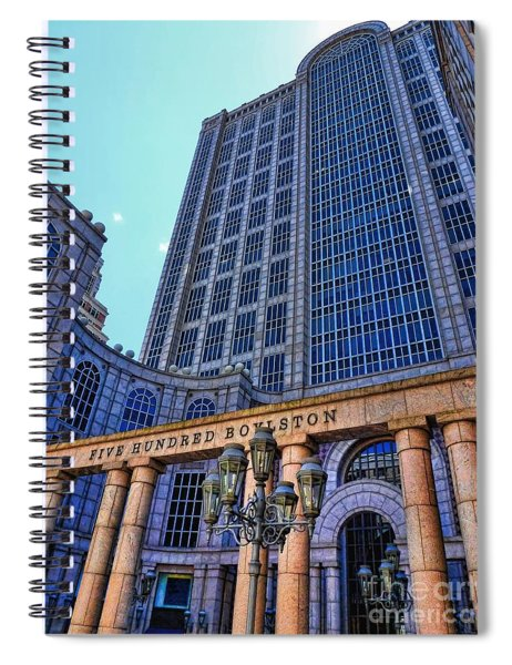 Five Hundred Boylston - Boston Architecture Spiral Notebook