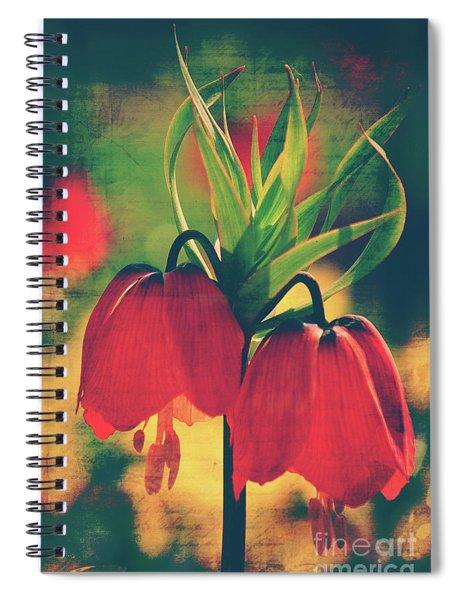 Fleur De Printemps Spiral Notebook