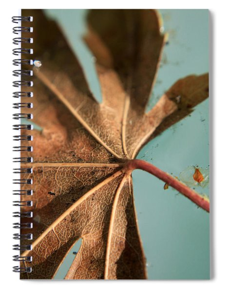 Floating And Drifting Spiral Notebook