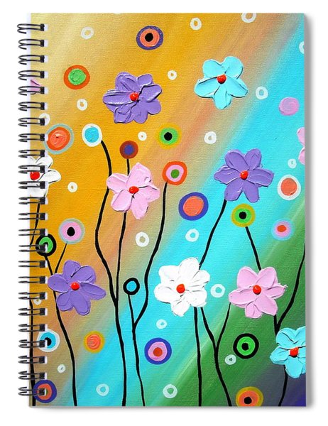 Floral Fest Spiral Notebook