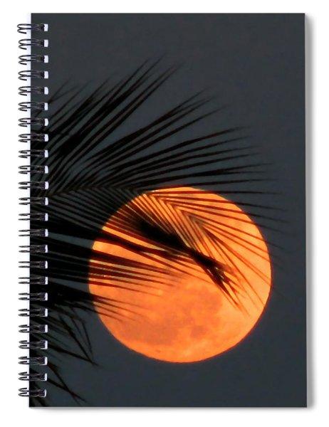 Florida Moonrise Spiral Notebook