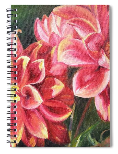 Flowers For Mom I Spiral Notebook