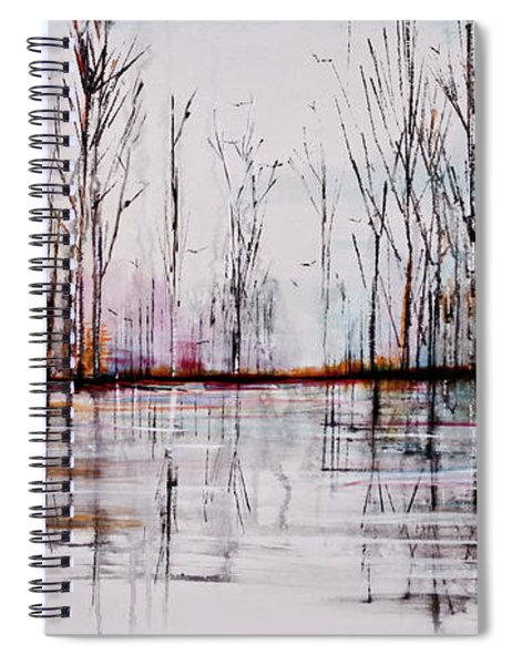 Flying South Spiral Notebook