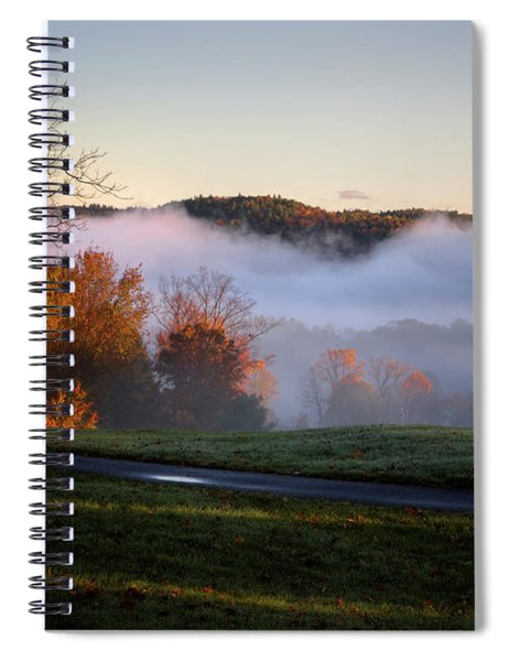 Foggy Dawn Spiral Notebook