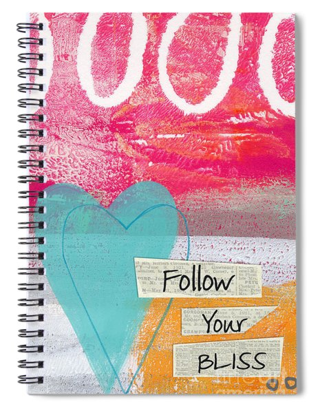 Follow Your Bliss Spiral Notebook