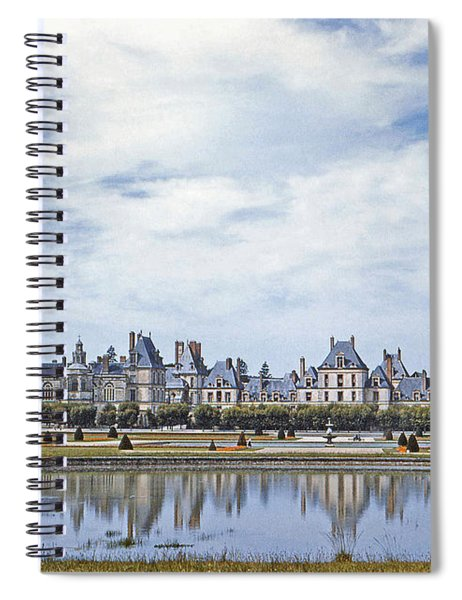 Fontainebleau Palace  Spiral Notebook