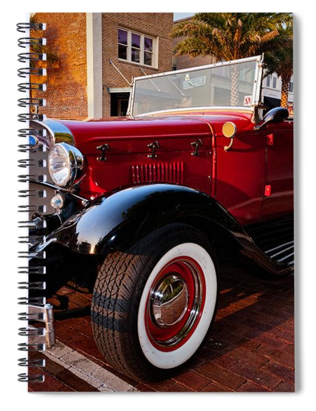 Ford Roadster Spiral Notebook