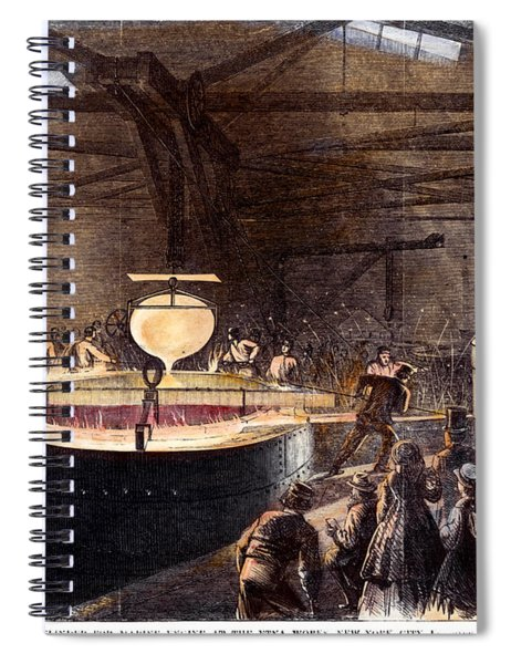 Foundry, 1866 Spiral Notebook